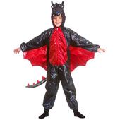 Deluxe Black Metallic Dragon Costume