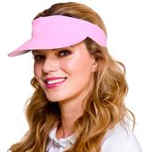 Golf Visor - Light Pink
