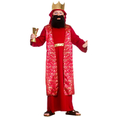 Kids Red Wise Man Costume