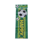 Giant Holographic Football Happy Birthday Banner - 2.7m