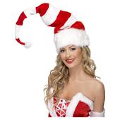 Striped Santa Hat
