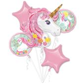 Magical Unicorn Foil Balloon Bouquets