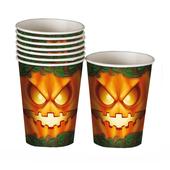 Halloween Pumpkin Paper Cups