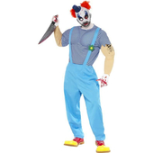 Adult Bubbles The Clown Costume