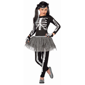 White Skeleton - Kids Costume