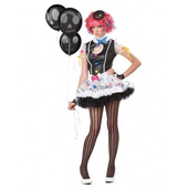 Sassie The Clown Costume