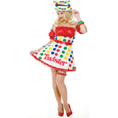 Sexy Twister Costume