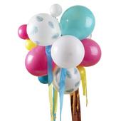 Multicoloured, Palm Print Balloon Chandelier Kit - 24 Pieces