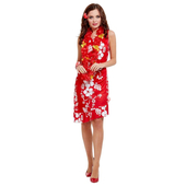 red Hawaiian Beauty Costume