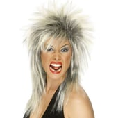 Rock Diva Wig - silver