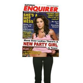 National Enquirer Party Girl costume