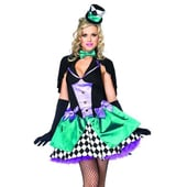 Delightfully Mad Hatter costume