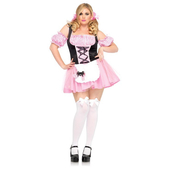 Plus size Gingham Miss Muffet costume