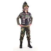Sergeant Splatter Costume - Teen