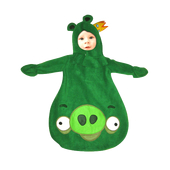 Angry Bird King Pig Baby Costume