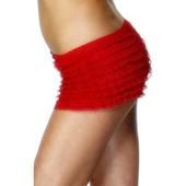 Ruffled Panties - Red