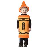 Crayola Outrageous Orange Baby Costume