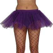Purple layered tutu