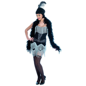 Plus size Charlston Girl costume