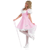 plus size bo peep costume - long dress