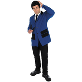 Teddy boy costume - blue
