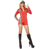 racing girl costume