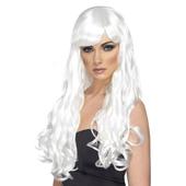 Long White Wig