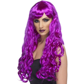 Long Purple Wig