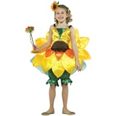 Kids Sunflower Costume