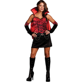 Ladies Vampiress Costume