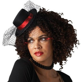 Burlesque Mini Top Hat