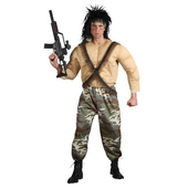 jungle warrior costume
