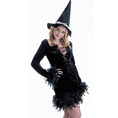 Black Feather Witch costume