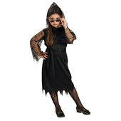 Gothic Lace Vampiress Costume