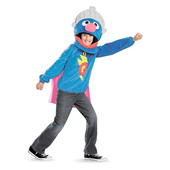 Sesame Street Super Grover Costume - Teen