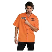 Plus Size Inmate Ken B Crazy Costume
