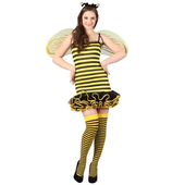 Plus Size Hot Bumble Bee Costume