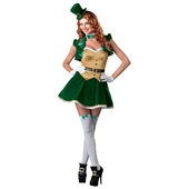 Deluxe Lucky Lass Costume
