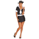 Ladies Gangster Moll Costume