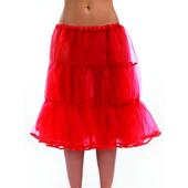 Long Red Underskirt