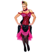 Madame Can Can Costume - Plus Size