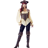 Rustic Pirate Lady Costume