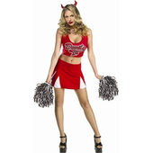 Devils Cheerleader costume