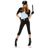 Ladies Cop Costume