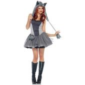 Gorgeous Grey Wolf costume