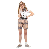 High School Nerd Costume - Ladies
