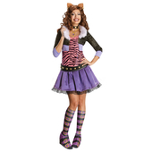 Clawdeen Wolf Monster High Adult Costume