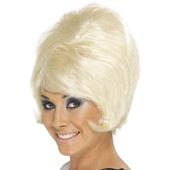 Beehive Wig - Blonde
