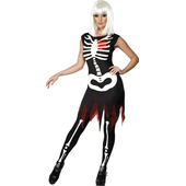 Bright Bones Glow-in-the-dark Costume