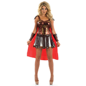 Spartan Girl Costume